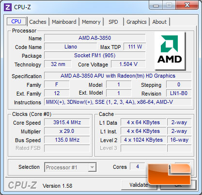 GIGABYTE A75-UD4H Overclocking