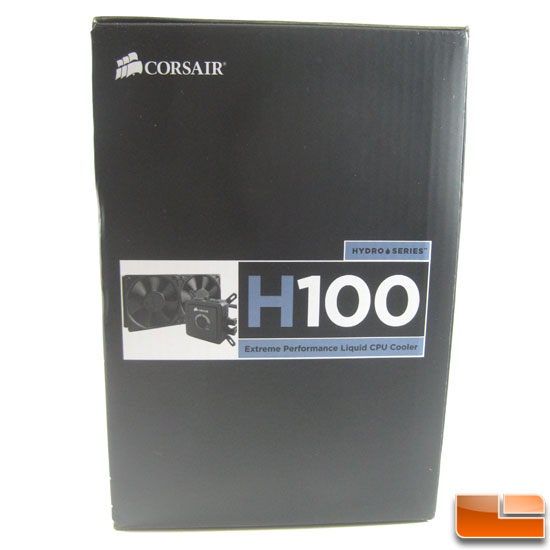 Corsair Hydro Series H100 box end
