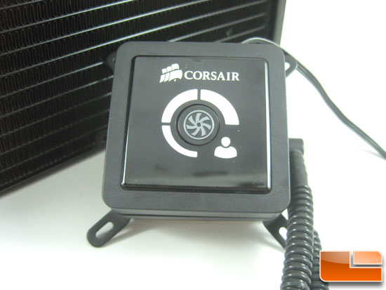 Corsair Hydro Series H100 pump housing