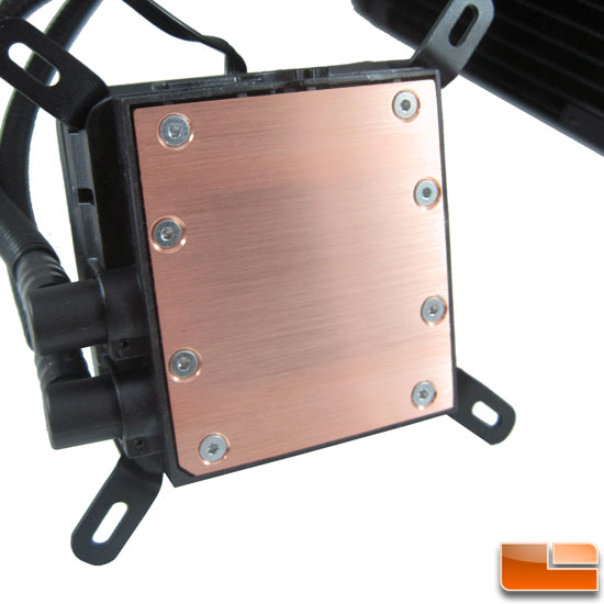 Corsair Hydro Series H100 base finish