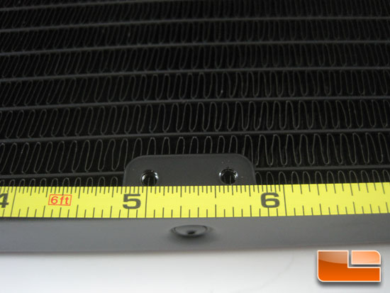 Corsair Hydro Series H100 fin count