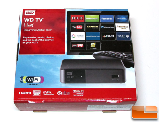 WD TV Live Box