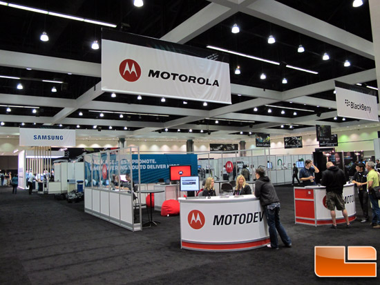 Adobe Max 2011 Motorola Booth