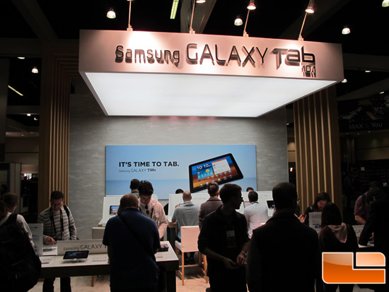 Adobe Max 2011 Samsung Booth