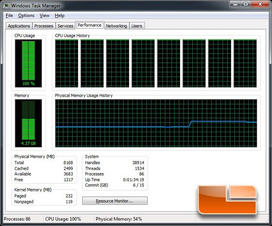 RAM use in task manager