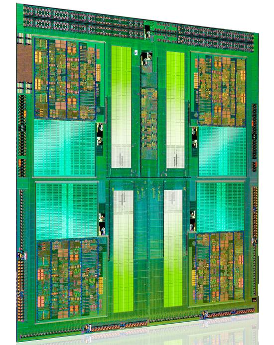 AMD FX CPU Die