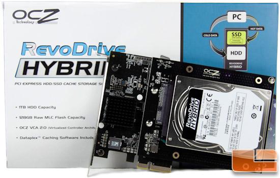 OCZ RevoDrive Hybrid 1TB PCI-E SSD Review