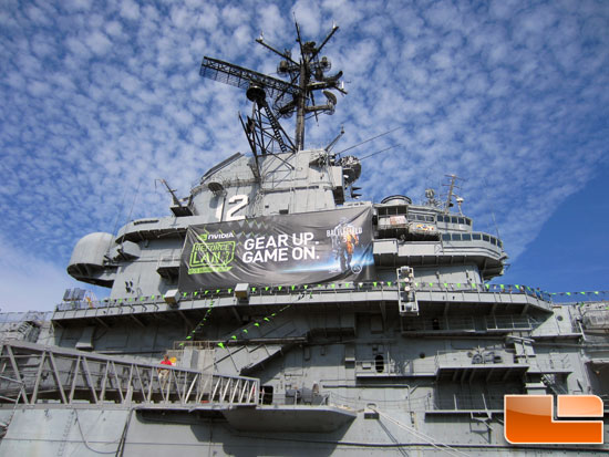 NVIDIA GeForce LAN 6 – The LAN Party on an Aircraft Carrier