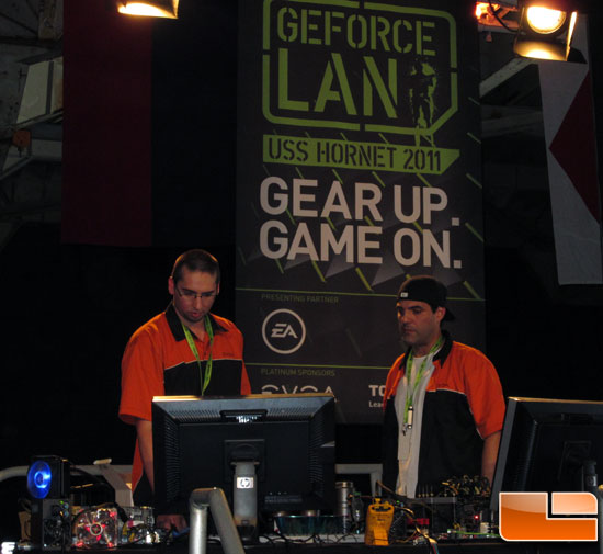 EVGA Demo at GeForce LAN 6