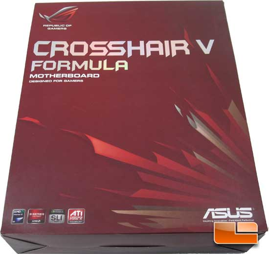 ASUS Crosshair V Formula Retail Packaging