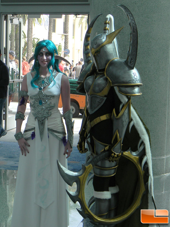 ... some family shots while waiting for the BlizzCon 2011 doors to open