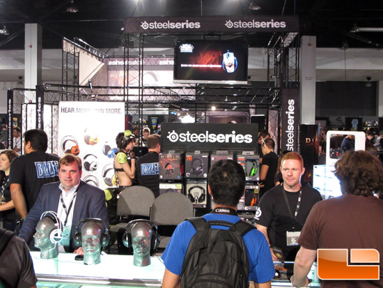 BlizzCon 2011 - SteelSeries Booth