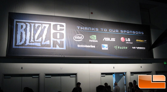 BlizzCon 2011 – Hardware Vender Booths