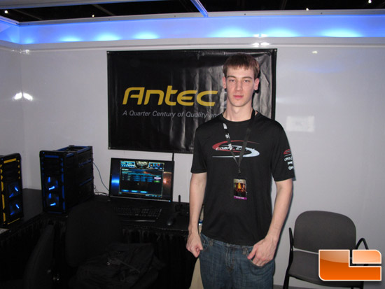 BlizzCon 2011 - Antec Booth