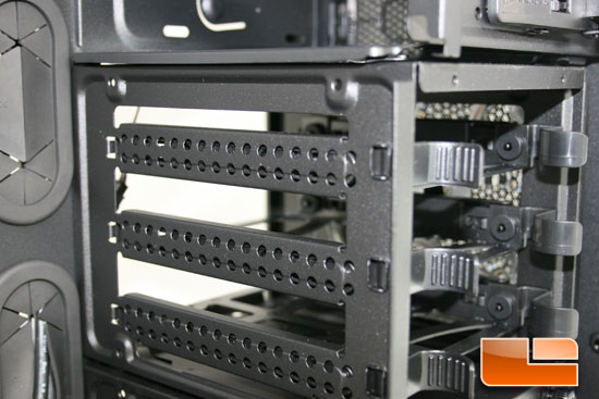 500R HDD Rack side