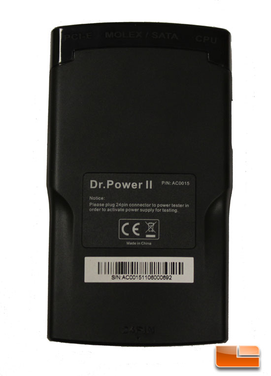 Dr Power II back