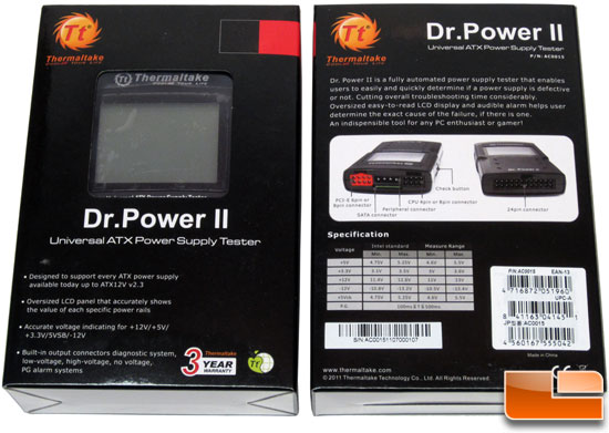 Thermaltake Dr Power II PSU Tester Box
