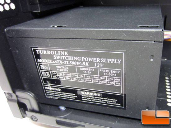 turbolink switching power supply