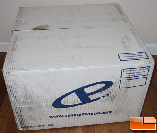 CyberPower Gamer Ultra Shipping Box