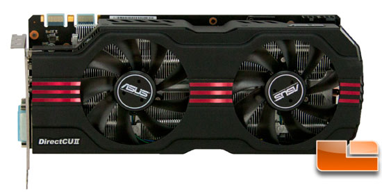 ASUS GTX 570 Front