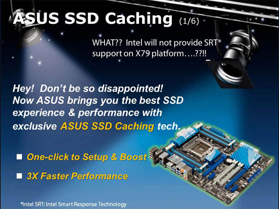 ASUS SSD Caching