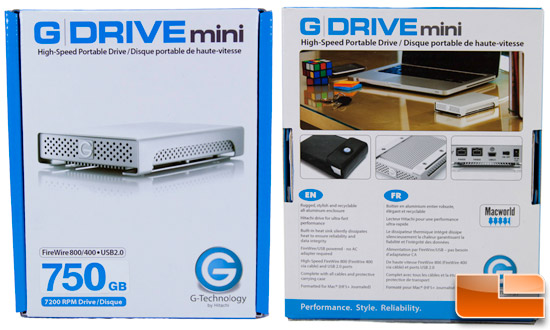 G-Technology G-DRIVE Mini Box