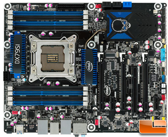 Intel DX79SI Siler motherboard