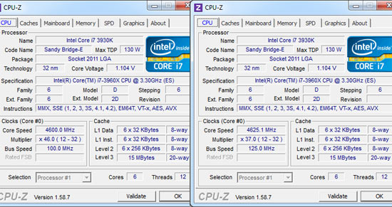 Intel Core i7-3960X Overclocking Assistant
