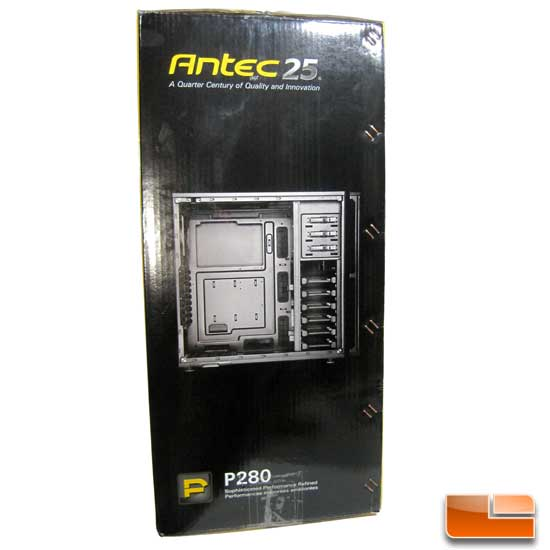 Antec P280 box left side