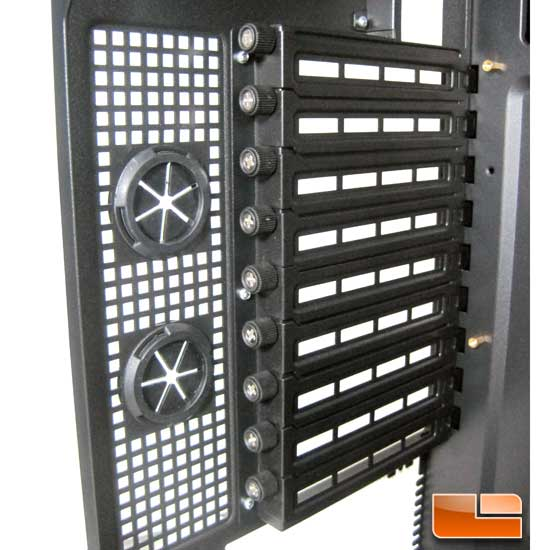 Antec P280 expansion slot covers