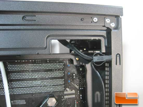 Antec P280 wire routing holes