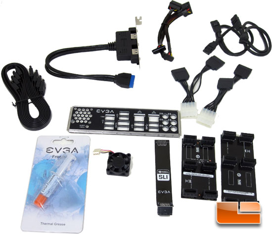 EVGA Z68 FTW Retail Box and Accessories