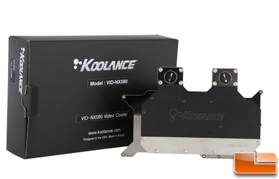 Koolance VID-NX580 GeForce GTX 580/570 Water Block Review