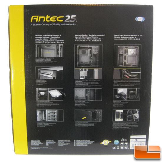 Antec Eleven Hundred box back