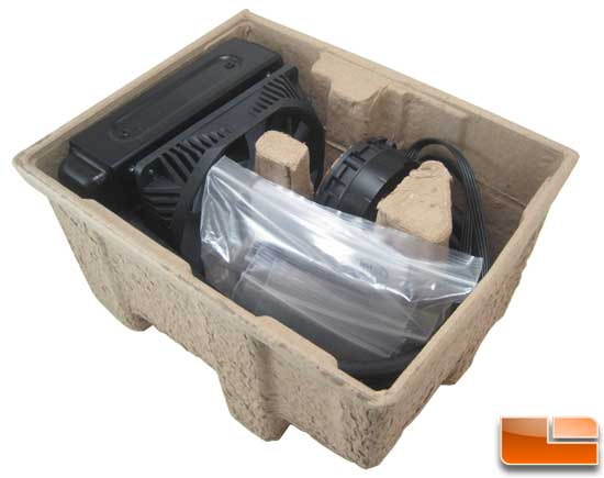 Intel RTS2011LC Water Cooler packing tray