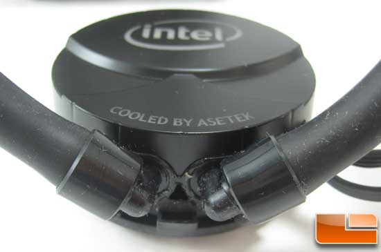 Intel RTS2011LC Water Cooler pump fittings