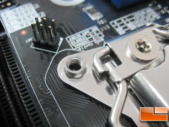 Intel lga 2011 socket mounting holes