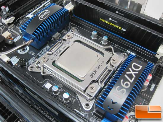 Legit Reviews Intel Core i7 3960X Test System CPU and RAM