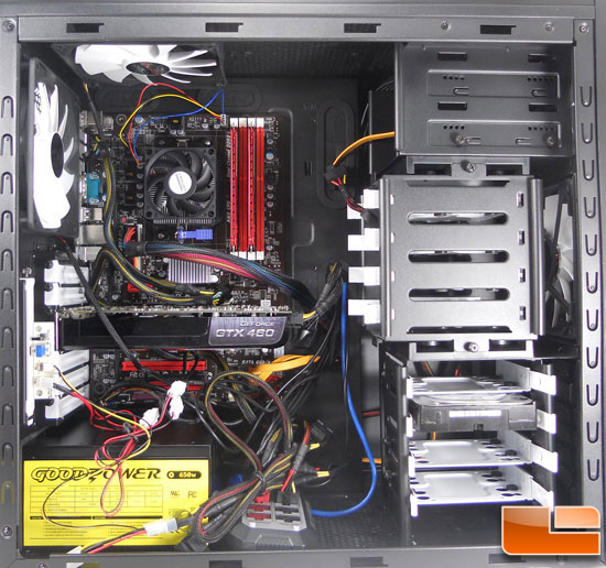 Fully Install Fractal Design Arc Midi Computer Case