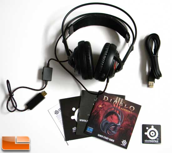 Diablo III Headset Inside the Box