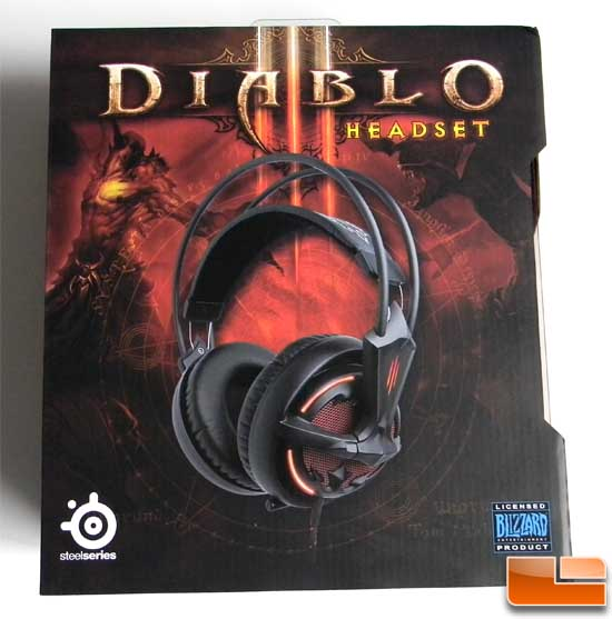 Diablo III Headset Box