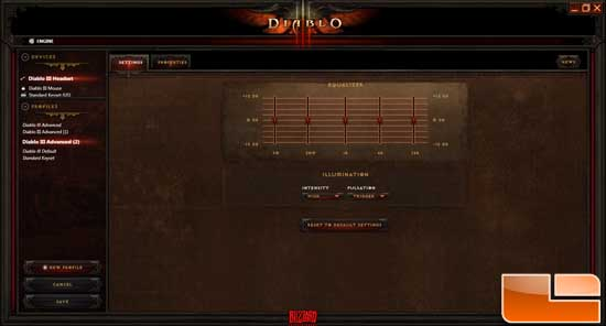 Diablo III Headset Settings