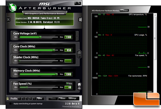 MSI Afterburner 2.2 beta 9