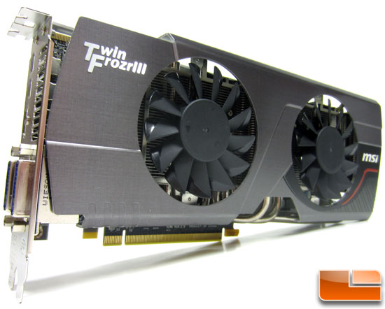 MSI R6950 Twin Frozr III 1G/OC Video Card Fan