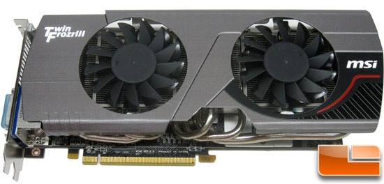 MSI R6950 Twin Frozr III 1G/OC Video Card Front