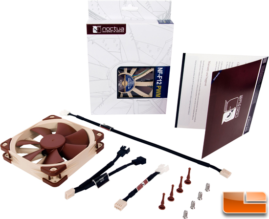 Noctua Focus Flow 120mm Fan & Bundle