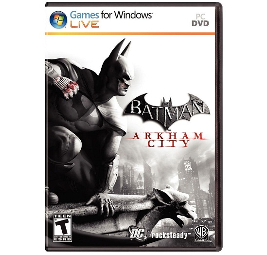 Batman: Arkham City PC Cover