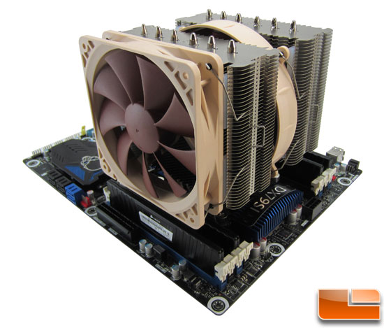 Intel LGA2011 CPU Cooler Roundup - Intel LGA2011 CPU Cooler Roundup - Noctua NH-D14