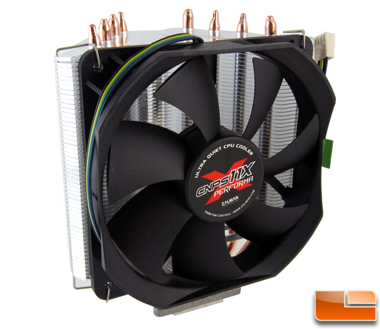 Intel LGA2011 CPU Cooler Roundup - Zalman CNPS11X Performa