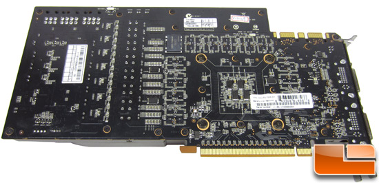 EVGA GeForce GTX 580 Classified 3072MB Video Card PCB